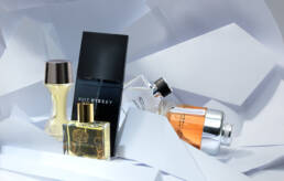 Issey Miyake & Jaguar fragrance and perfume editorial