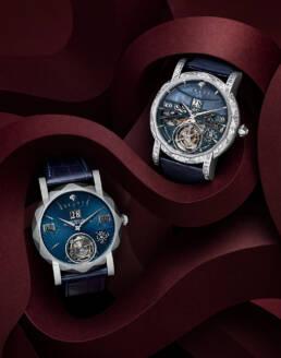 Graff diamonds gentlemans' watches in graphic paper set